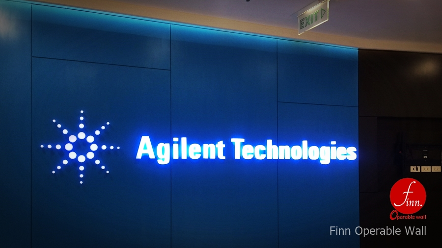 Agilent Technologies@Bangkok :: Operable Glass wall systems.