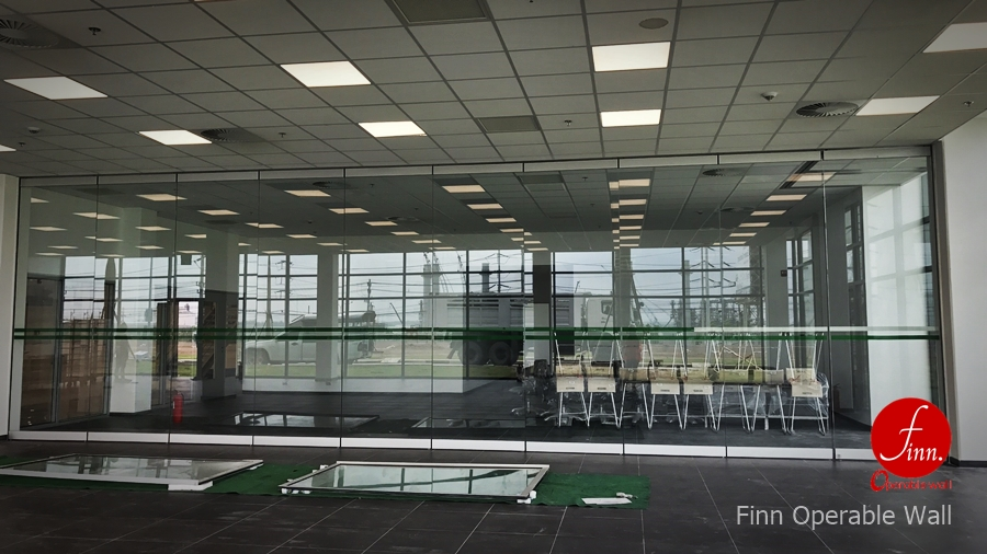 BOSCH@Rayong :: Finn Movable Glass wall systems & Operable Glass wall systems