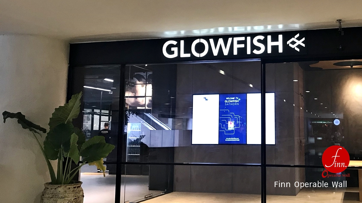 Glowfish@Bangkok :: Meeting & Training Rooms :: Finn Operable wall systems.
