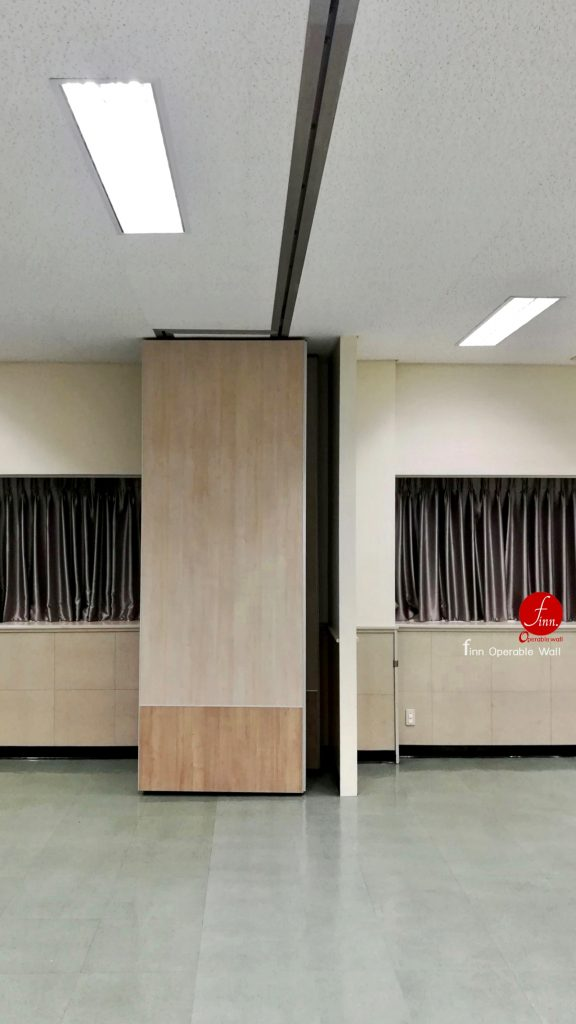 Bridgestone # Meeting & Training Room # Reference Projects Finn Operable wall systems.