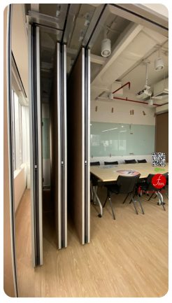 MOVABLE WALL SYSTEM @Cigna – BANGKOK # Reference Projects. Meeting & Training Room :: Finn Operable wall systems.