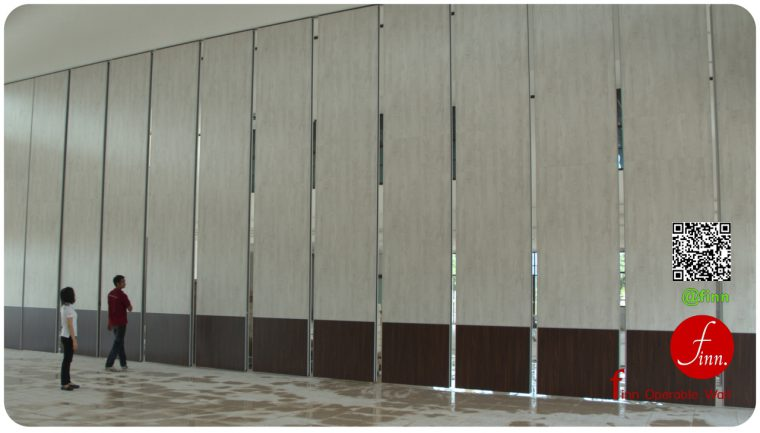 MOVABLE WALL SYSTEM @Amnat Charoen – BANGKOK # Reference Projects. Meeting & Training Room Finn Operable wall systems.